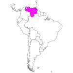日本語でベネズエラ/カラカス Venezuela / Caracas in Japanese