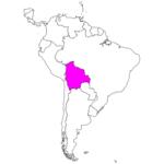 日本語でボリビア/スクレ/ラパス Bolivia / Sucre / La Paz in Japanese