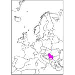 日本語でセルビア/ベオグラード Serbia / Belgrade in Japanese