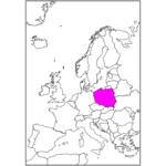 日本語でポーランド/ワルシャワ Poland / Warsaw in Japanese