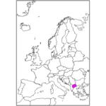 日本語で北マケドニア/スコピエ North Macedonia / Skopje in Japanese