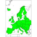 ヨーロッパ 国と首都の日本語/英語 European countries in Japanese / English