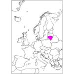 日本語でリトアニア/ビリニュス Lithuania / Vilnius in Japanese