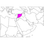 日本語でシリア/ダマスカス Syria / Damascus in Japanese