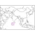日本語でモルディブ/マレ Maldives / Male in Japanese