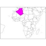 日本語でアルジェリア/アルジェ Algeria / Algiers in Japanese