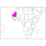日本語でモーリタニア/ヌアクショット Mauritania / Nouakchott in Japanese