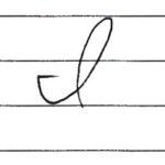(Re-upload)英語の筆記体を書いてみよう I i Cursive alphabet