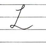 (Re-upload)英語の筆記体を書いてみよう L l Cursive alphabet