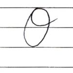 (Re-upload)英語の筆記体を書いてみよう O o Cursive alphabet