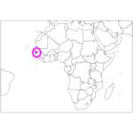 日本語でギニアビサウ/ビサウ Guinea-Bissau / Bissau in Japanese