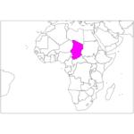 日本語でチャド/ンジャメナ Chad / N'Djamena in Japanese