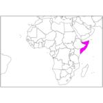 日本語でソマリア/モガディシュ Somalia / Mogadishuin Japanese