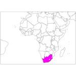 日本語で南アフリカ/プレトリア/ヨハネスブルグ South Africa / Pretoria / Johannesburg in Japanese