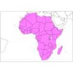 アフリカ 国と首都の日本語/英語 African countries in Jpanese / English