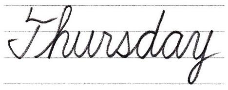 の 筆記 体 英語