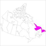日本語でニューファンドランド・ラブラドール州 Newfoundland and Labrador in Japanese