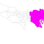 東京23区一覧 List of 23 wards in Tokyo